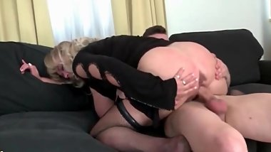 Big titted Mommy Fucks Her sons Best Friend