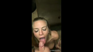 cum on slut mom face