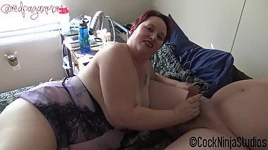 BBW Step Mom and Dad Teach Step Son Sex FULL VERSION