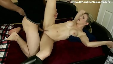 Hot busty amazing Mom bangs Stepson