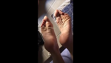 Moms Soles. Never did this before. Incredible!