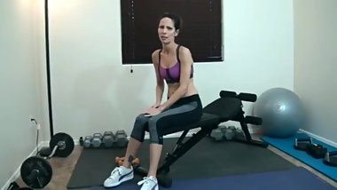 Step Mom fucking son at gym hours (wife crazy stacie)
