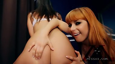 Mommy and Friend Lingerie Shop with StepSon Penny Pax