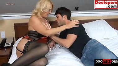 HOT MOM FUCKS SON