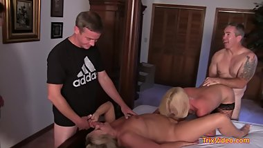 Taboo Family fucks a WHORE