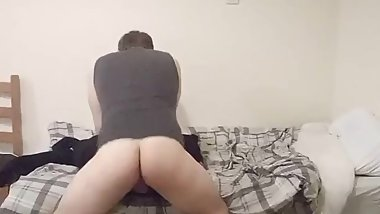 Boy caught fucking on spy cam
