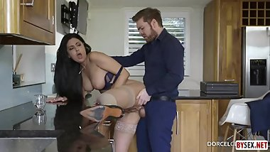Milf Mom With Fat Ass Fucks Son's Friend