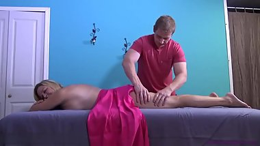 StepMother's first massage from son