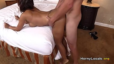 Latin mom teaches you how to fuck!
