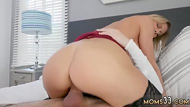 Mature milf smoking blowjob My Peeping crony's step son