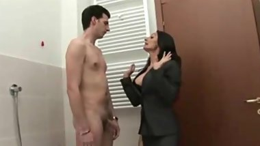 Busty Italian Mother and Sons Friend E221
