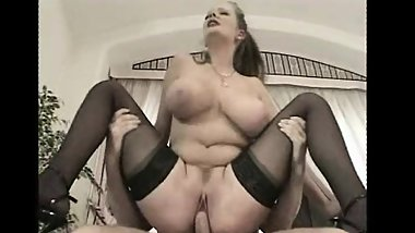 Big Boobs Stepmom Turns Her Virgin Son Into A