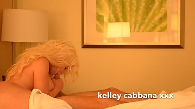 Kelley Cabbana sucks stepson friend hardcock .. My pussy was so wet!