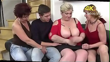 Son Seduces Milf Mother and Her Friends - FREE Mom Videos at FiLF4K.COM