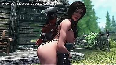 Mistress Spanking Lydia Skyrim  cartoon 3d porn games