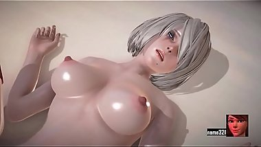2b Love Time with 2b 3d cartoon sex game
