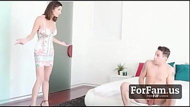 Mother Caughts Son Masturbating and Help Him Out - FREE Mom Videos at ForFam.us