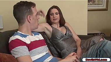 Stepmom wants her stepsons big cock
