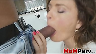 Big cocked stepson fucking hard nasty Krissy Lynn in POV