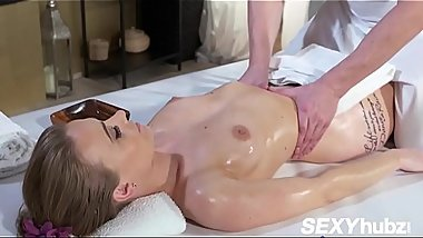Carmel Anderson In Horny oiled British woman squirting