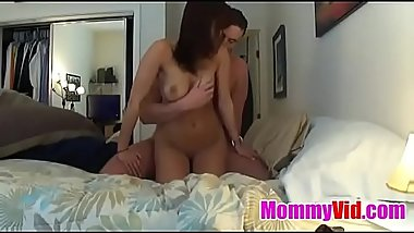 MommyVid.com - Sweet brunette girl screwed from behind