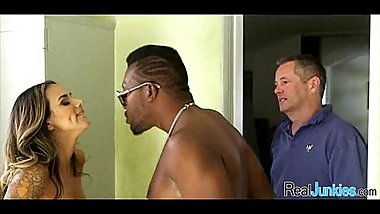 Interracial cuckold with mom 273